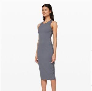 Lululemon Picnic Play Steam Blue Dress